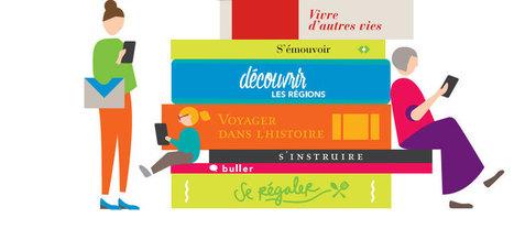 La SNCF lance e-livre, un service de lecture numérique en illimité - Les Numériques | ce que j'aime dans les bibliothèques | Scoop.it