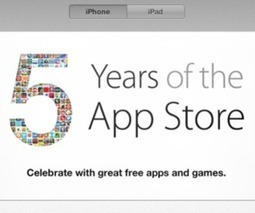 Top iOS apps and games go free ahead of App Store's fifth ... | Tech, Social Media, Marketing | Scoop.it
