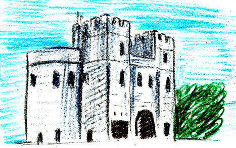 How to Draw a Medieval Castle | Castles | Scoop.it