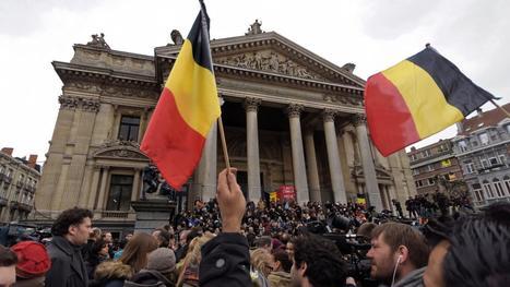VIDEO. L'hymne européen joué devant la Bourse de Bruxelles en hommage aux victimes des attentats | Mediapeps | Scoop.it