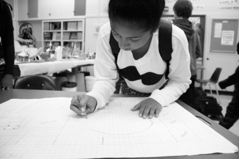 """""""Design Thinking and Making"""" class at Claremont Middle School encourages students to think outside of the box 