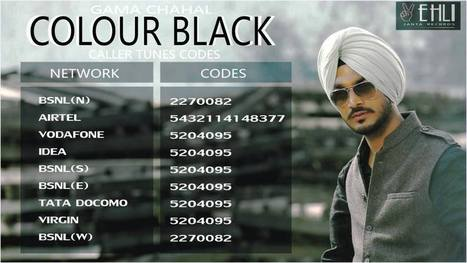 Color Black Gama Chahal-Download Mp3|HD Video Song|Lyrics | Mp3-SongsPK.Com | music news | Scoop.it