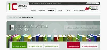 Biblioteca Digital Camões disponibiliza livros grátis | Português | Scoop.it