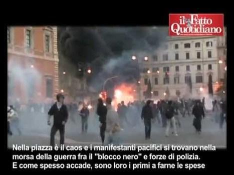 Roma 15 ottobre 2011, il videoracconto delle violenze | Lorenzo Galeazzi | Il Fatto Quotidiano | 15 ottobre 2011 | Scoop.it