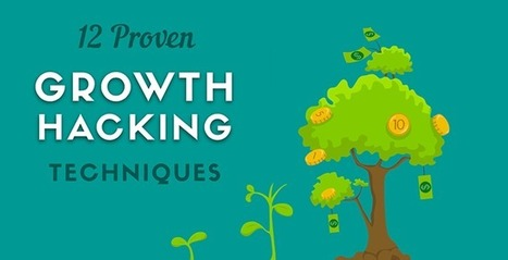12 Proven Growth Hacking Techniques (Infographic) | Growth Hacking | Scoop.it