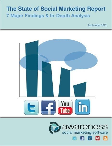 State of Social Media Marketing: Updated Report | Socialnomics | DV8 Digital Marketing Tips and Insight | Scoop.it