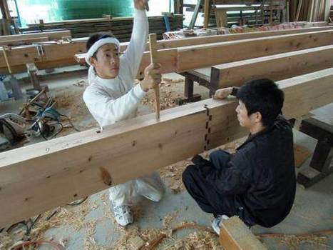 Japanese carpenters demonstrate traditional wooden joints and it's oddly ... - RocketNews24   Being in the World   Scoop.it