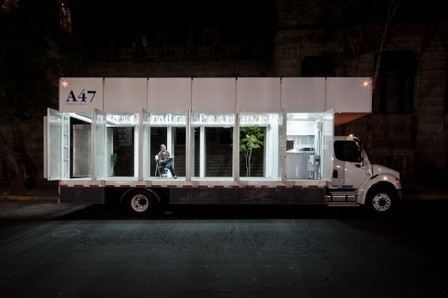 A47 Mobile Art Library / PRODUCTORA | ArchDaily | SocialLibrary | Scoop.it