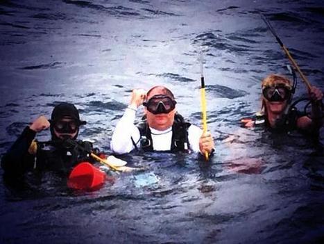 Twitter / chefjoseandres: @Bourdain I'm scuba diving ... | Tank's ocean grotto | Scoop.it