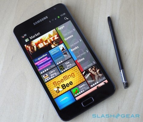 Samsung Galaxy Note Review - SlashGear | Nerd Vittles Daily Dump | Scoop.it
