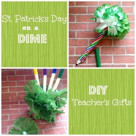 St. Patrick's Day Crafts for Kids: Teachers Gifts   Library Fun   Scoop.it