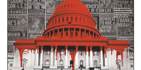 New York Daily News Slams Senate With Bloodied U.S. Capitol | LibertyE Global Renaissance | Scoop.it
