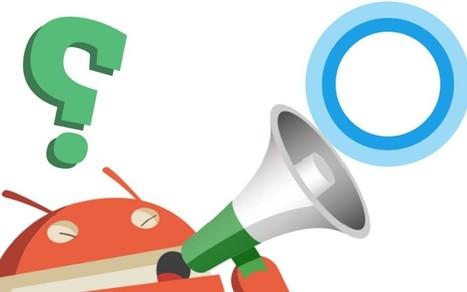 Reconnaissance vocale : Microsoft prêt à lancer Cortana sur Android   Hightech, domotique, robotique et objets connectés sur le Net   Scoop.it