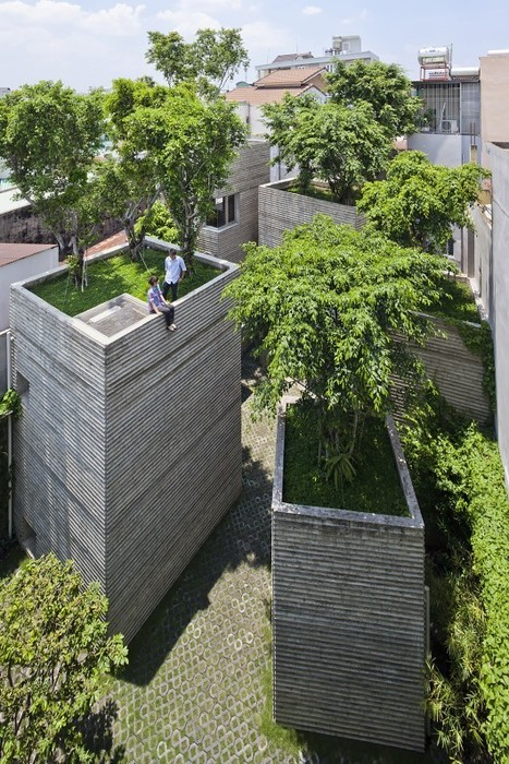 House for Trees / Vo Trong Nghia Architects | architecture verte | Scoop.it