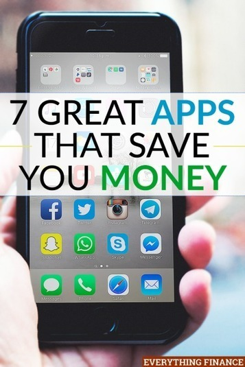 7 Awesome Apps That Help You Save Money | The Twinkie Awards | Scoop.it