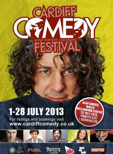 Cardiff Comedy Festival 2013 | ComedyEvents | Scoop.it