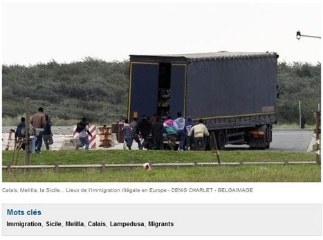 Immigration: il y a ce que les journaux montrent et ce que les photographes voient | DocPresseESJ | Scoop.it