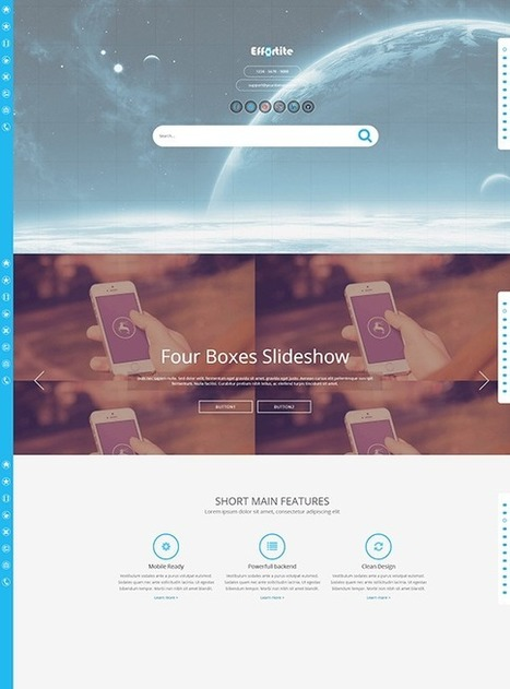 TM Effortite - Responsive Creative Mobile Joomla Template | Free & Premium Joomla Templates and WordPress Themes | Scoop.it
