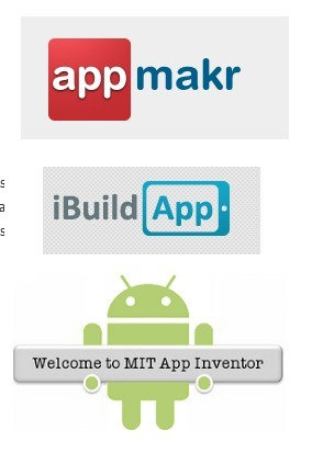 3 Awesome Apps for Teachers to Create their Own Apps ~ Educational Technology and Mobile Learning   Tech trends feed   Scoop.it