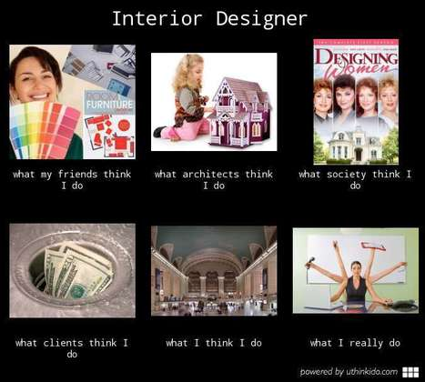 Interior Designer | What I really do | Scoop.it