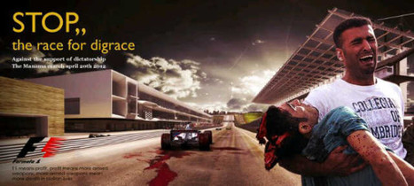 Bahrain F1 :  Race for Disgrace! | Human Rights and the Will to be free | Scoop.it