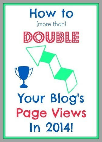 How to Double Your Page Views in 2014 - Blogging on the Side | Writing | Scoop.it