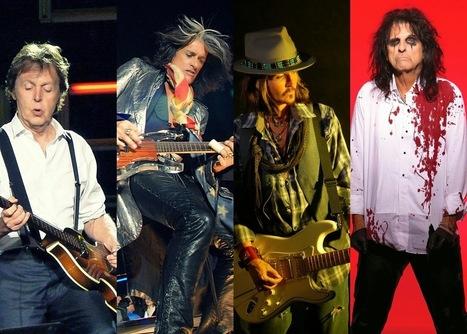 The Hollywood Vampires, ovvero Joe Perry, Alice Cooper & Johnny Depp + Paul McCartney - Stereorama | Music & Art | Scoop.it