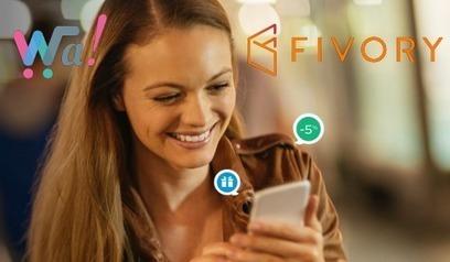Les wallets mobiles Wa! et Fivory fusionnent   mobile, digital and retail   Scoop.it