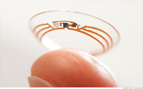 Google to make smart contact lenses   Benoit Massé Tech Trends   Scoop.it