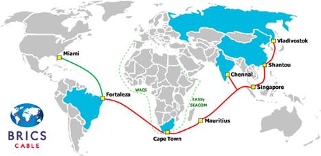 Les BRICS déclarent la guerre des câbles contre Londres et Wall Street | Tenter de comprendre le monde moderne | Scoop.it