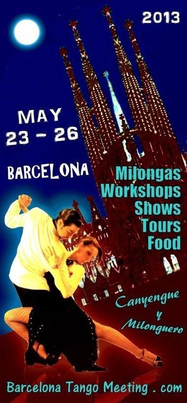 Barcelona Tango Meeting: Bienvenida | Barcelona TANGO meeting | Scoop.it