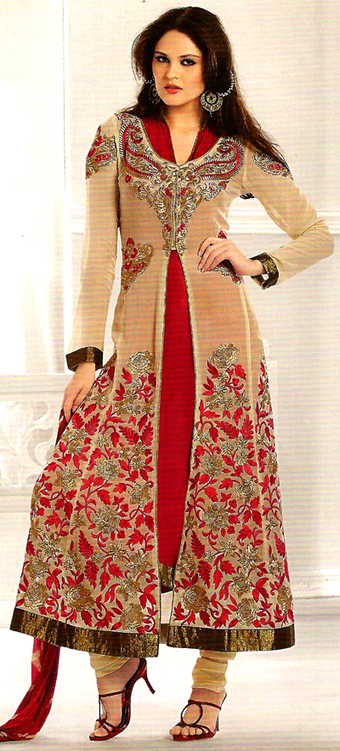 Anarkali Long Zacket Style with inner | dulhanebegum | Scoop.it