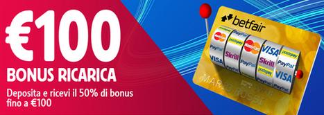Effettuare un nuovo deposito e ricevi fino a 100 € di bonus | Online Slots | Scoop.it