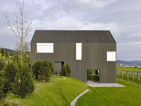Minimalist Gottshalden House Blending With The Green Surroundings | Internet marketing | Scoop.it
