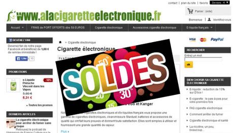 Les soldes cigarettes électroniques arrivent aussi sur votre boutique | Le Journal de la Cigarette Electronique | Scoop.it