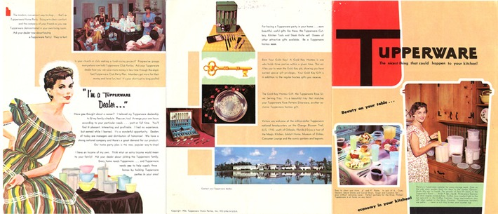 Vintage Tupperware Catalogs | Herstory | Scoop.it