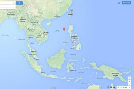 Google Maps modifie le nom d'un récif disputé en mer de Chine | La presse | Le monde sous toutes ses cartes | Scoop.it