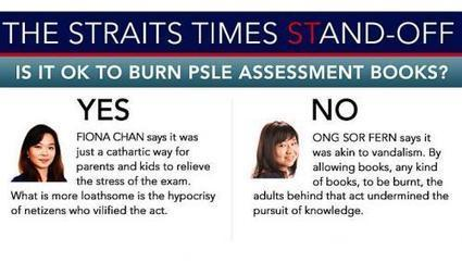 Is it OK to burn PSLE assessment books? - Straits Times | Education including Ethics, focus on Msia & Singapore | Scoop.it