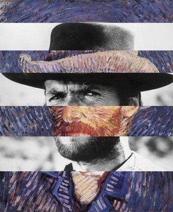 Clint Eastwood et Van Gogh fusionnent dans des mashups étonnants   Veille pour rire ou sourire   Scoop.it