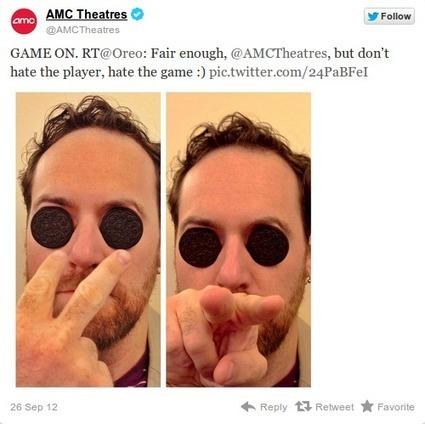 Humour entre marques sur Twitter : Oreo et AMC Theater | CommunicationDeCrise | Scoop.it