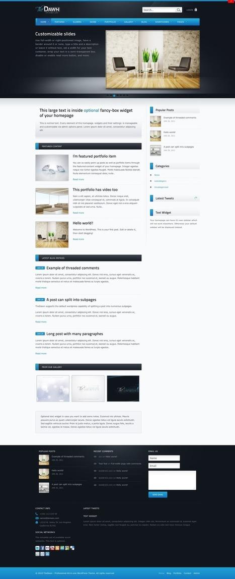 Best Dutch Office  Wordpress Themes 2014 | Wordpress Themes 2014 | Scoop.it
