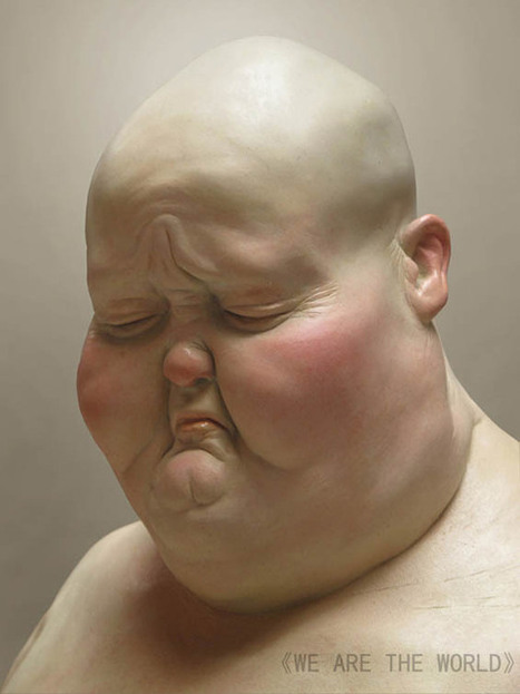 Grotesque Human And Animal Hybrid Sculptures By Liu Xue | Soceity & Culture | Scoop.it