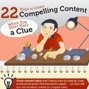 22 Ways to Create Compelling Content When You're Stuck [Infographic] | | Social on the GO!!! | Scoop.it