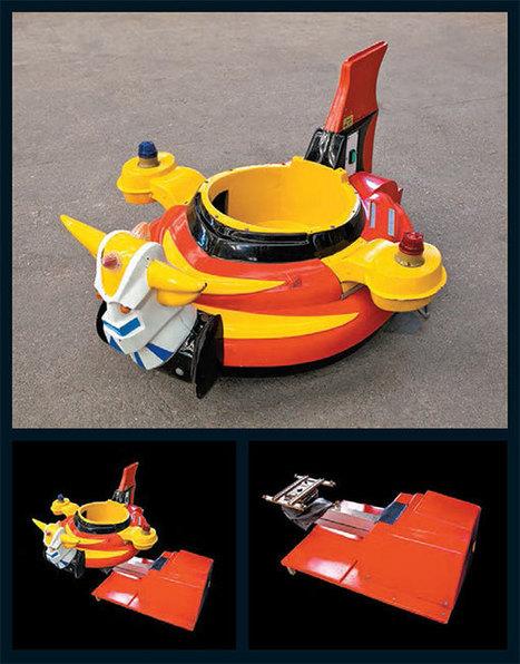 ToyzMag.com » Made In Japan : Goldorak GO !   Vente aux encheres mobilier  design et pop culture   Scoop.it