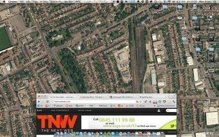 Whoa! Satellite Eyes Switches Your Mac's Wallpaper to a Map of Your Location | Tracking Transmedia | Scoop.it
