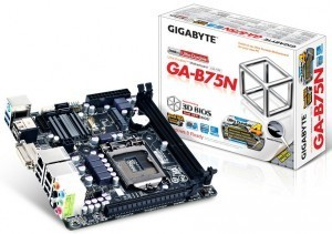 Gigabyte GA-B75N: Otra placa base Mini-ITX con socket LGA1155 - HardZone.es | REPARAR ORDENADOR | Scoop.it