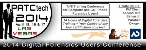 PATCtech 2014 Computer & Cell Phone Forensics Users ConferenceTraining-Las Vegas, NV   High Technology Threat Brief (HTTB) (1)   Scoop.it