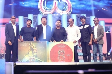 'I' Audio Launched   Wishesh Entertainment News   Scoop.it