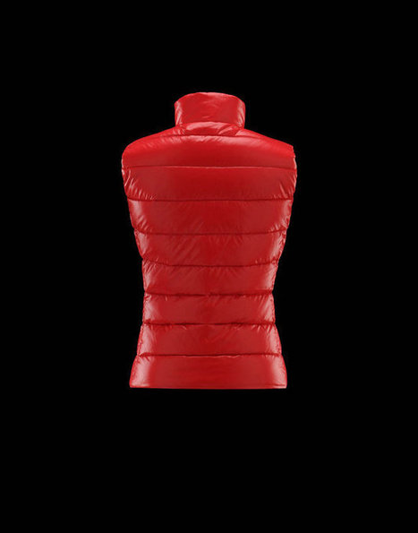 Sconto Moncler Donne Gilet Ghany Rosso Vendita On-line | nice day | Scoop.it