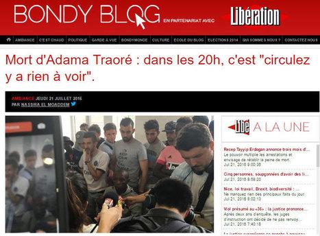 Val d'Oise / mort d'un interpellé: les JT aux abonnés absents | DocPresseESJ | Scoop.it